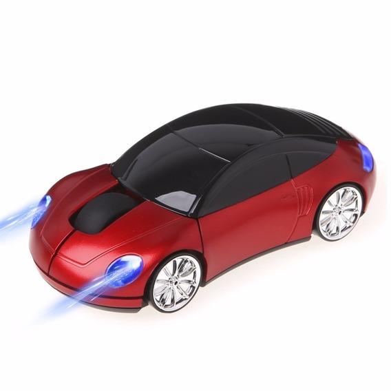 Mouse Sem Fio Usb 2.0 Porsche Ergonômico 2,4 Ghz 1200 Dpi