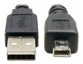 Cable Usb Ricoh Y Pentax Wg-4 5 20 Gps Gr Ii K10d K20d K30d