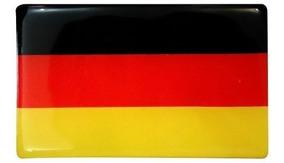 Adesivo Bandeira Países Ou Estados Resinada Carro Moto 4unid