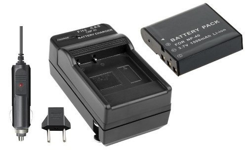Bateria Carregador P/ Benq Dc E520 E521 E610 P500 Dv M21 M22