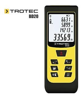 Distanciometro Laser Trotec Bd20 60 Metros, Cálculo De Areas
