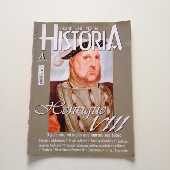 Revista Grandes Líderes Da História Henrique O Polêmico F576