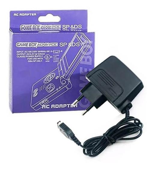 Fonte Ac Adaptador Game Boy Advance Sp Nintendo Ds 110/220v