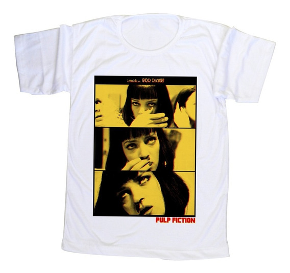 Remera Pulp Fiction- Diseño Exclusivo Elequ
