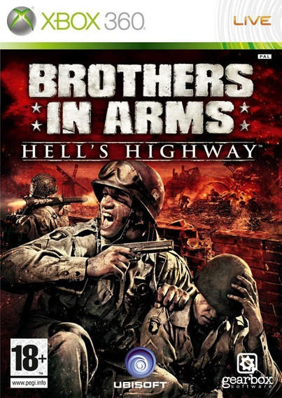 Brothers In Arms Hells Highway Xbox 360 Lt 3.0 Desbloqueado