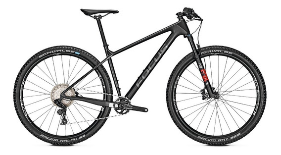 Bicicleta Montaña Focus Raven 8.8 29 Color Negro Carbono 12g