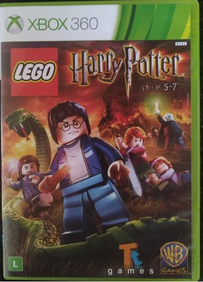 Jogo Harry Potter 5-7 Lego Original Xbox 360 - Semi-novo