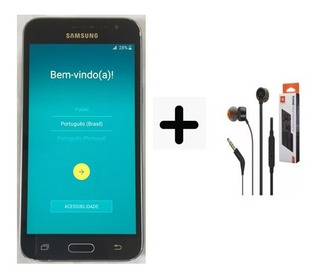 Celular Samsung Galaxy J3 8gb - 2 Chip + Película E Fone Jbl