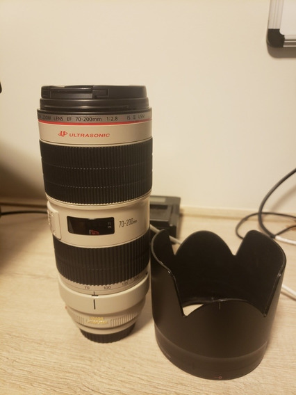 Lente Canon 70-200 F-2.8l Is Ii Usm