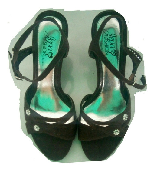 Sandalias De Dama Talla 36 Color Marrón Totalmente Nuevas