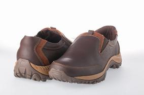 Calzado Deportivo Cuero Liviano - Marón