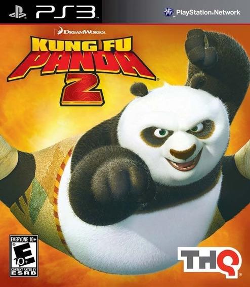 Kung Fu Panda 2 Ps3 Mídia Física Super Conservado