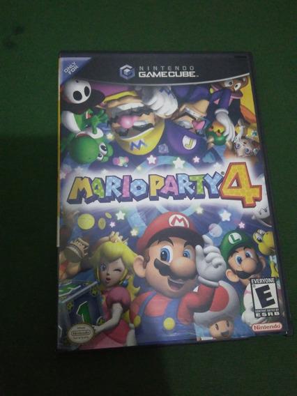 Mario Party 4 Original Completo Gamecube