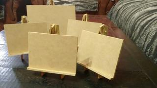Mini Atriles De 7x10 Pack Por 10/unidades