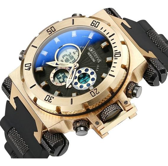 Relógio Stryve Masculino Lançamento Original Super Top