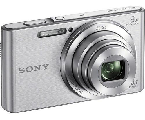 Câmera Sony Cyber-shot Dsc- W830 - Câmera Digital 8x Zoom