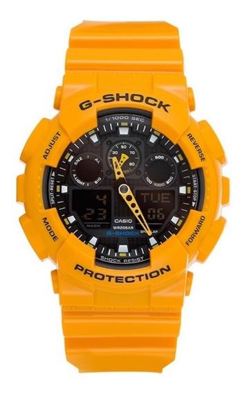 Relogio Casio G-shock Ga-100a-9adr
