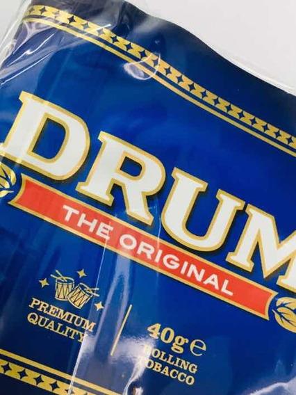 Tabaco Drum 40 Grs / Original / Nuevo / Clásico Cigarrillo!