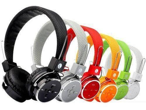 Fone Ouvido Headphone Sem Fio Bluetooth Micro Sd Fm P2 Cel