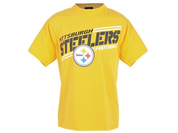 Playera Nfl Pittsburgh Steelers Para Niño- Talla Xl