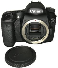 Câmera Canon 70d Seminova (corpo) Impecável + Alça