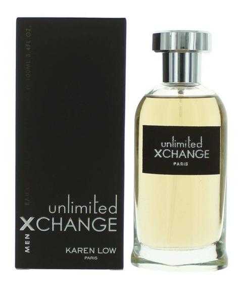 Perfume Unlimited Xchange Men 100ml Karen Low Original