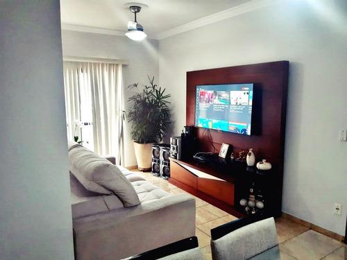 Excelente Apartamento Com 2 Dormitórios E 80 Metros Quadrados Para Venda Em Santos No Bairro Do Embaré - Em1977 - 69183102