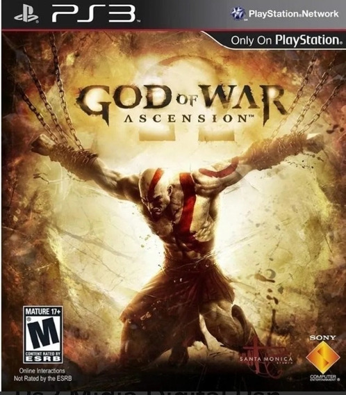 God Of War: Ascension - Dublado Em Português - Psn Ps3