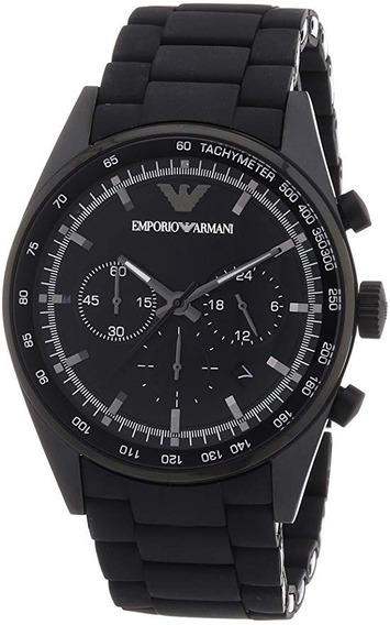 Relógio Emporio Armani Ar5981 Gents Black Stainless Steel