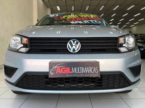 Volkswagen Saveiro Cs 1.6 Trendline Único Dono 2018 Prata