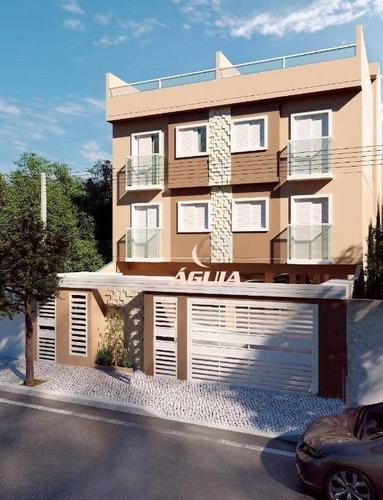 Cobertura Com 2 Dormitórios À Venda, 48 M² Por R$ 350.000,00 - Parque Novo Oratório - Santo André/sp - Co0857