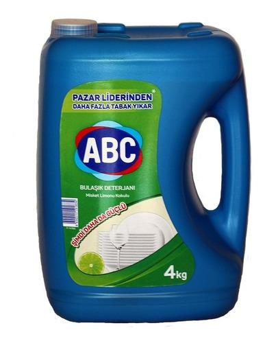 Imagen 1 de 3 de Lavalozas Concentrado 4kg Aroma Limon