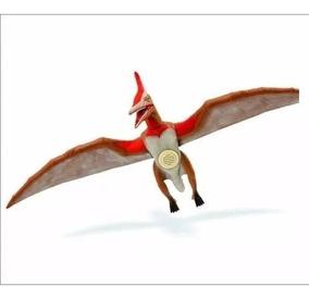 Dinossauro Pterossauro Com Som Adijomar - Marrom