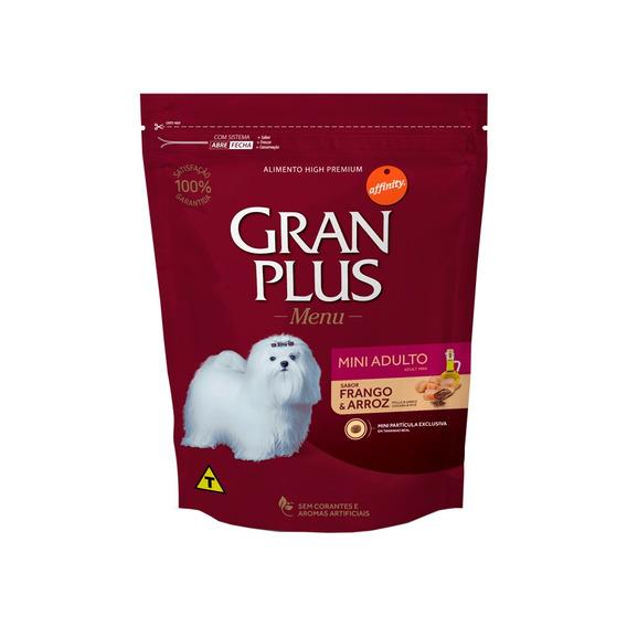 Ração Gran Plus Raças Pequenas Sabor Frango E Arroz - 1kg