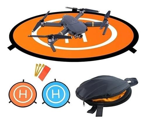 Helipuerto Drone Landing Pad Almohadilla De Aterrizaje 75 Cm