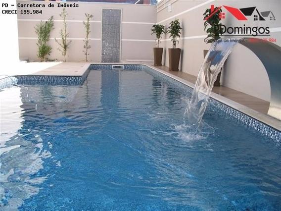 Imponente Casa Térrea A Venda No Condomínio Residencial Villa Lobos - Paulínia - Ca00066 - 2235262