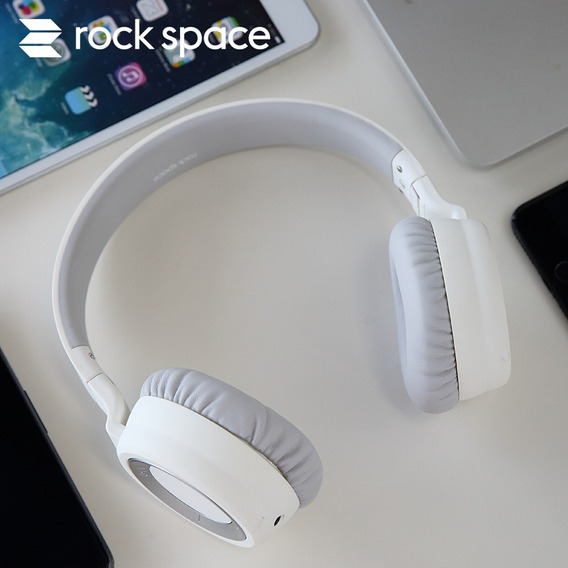 Branco Rock Rock S7 Headset Bluetooth Headset Silencioso Esp