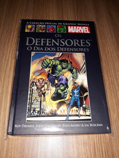 Hq Os Defensores: O Dia Dos Defensores (seminovo)