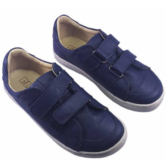 Tênis Infantil Velcro Duplo Marinho Blue