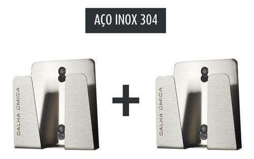 Porta Esponja Inox Com Ventosa Suporte Multifuncional P/ Pia