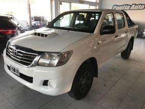 Toyota Hilux 2.5 Cd Dx Pack I 120cv 4x4 2013 Nueva!