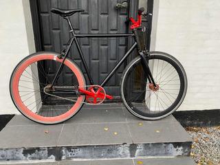 Bicicleta Fixie Ruta Créate Inglesa Rod 700 Usada