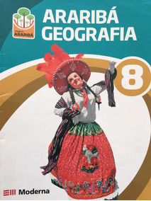 Kit Araribá Geografia 8 + Guia De Estudo Arariba Geografia 8