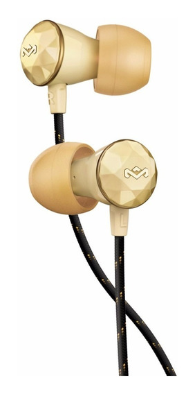 Auriculares House Of Marley Nesta In Ear Gold Em-fe033-gd