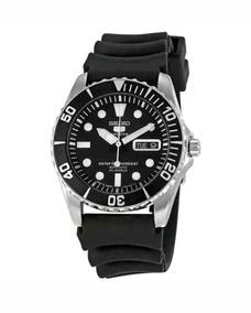 Relógio Seiko Snzf17j2 - Preto - Made In Japan