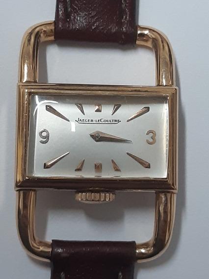 Lindo Relógio Feminino Jaeger Lecoultre Em Ouro