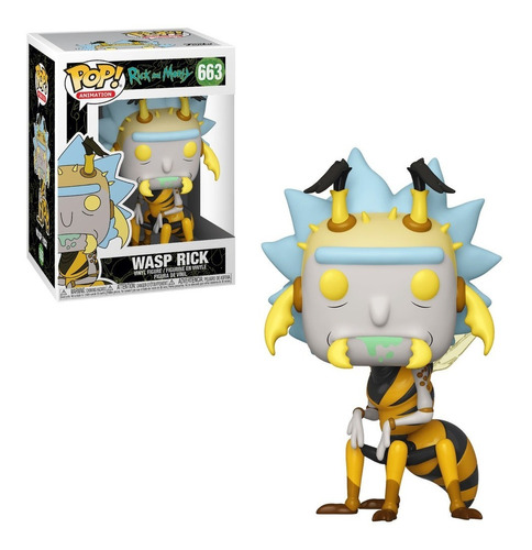 Wasp Rick - Funko Pop Original Rick And Morty