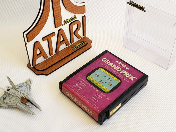 Grand Prix Activision Original [ Atari 2600 ] Importado [ Ax-014 ] Usa Ntsc [iplay]