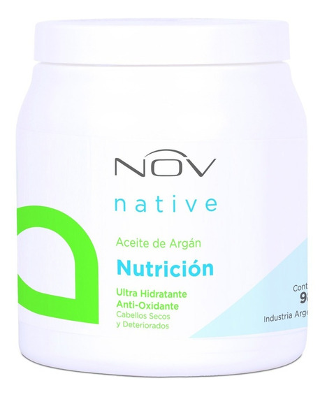 Nutrición Nov Aceite De Argan / Lino / Keratina 980gr