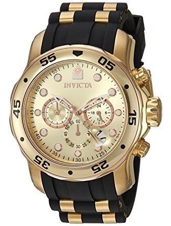 Relógio Invicta 17884 Pro Diver Ouro 18k Original